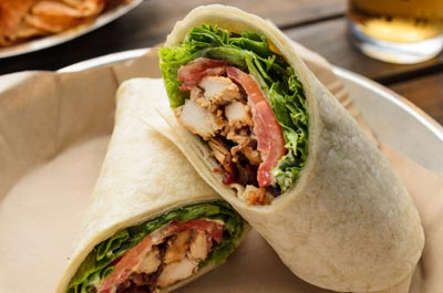 BLT Ranch Chicken Wrap